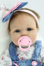 22 '' Bambole Bambino Reborn Fatto a mano Realistico Silicone Neonato Xmas Gifts
