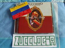 Zucchero CD + DVD Live in Italy Venezuela Colombia