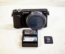 Sony Alpha NEX-3N 16.1MP Digital Camera Black Body