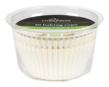 Fox Run  3 in. W Baking Muffin Cups  White