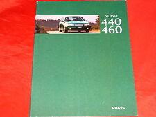 Volvo 440 460 1.6 1.8 2.0 1.7 turbo 1.9 turbo diesel folleto de 1996