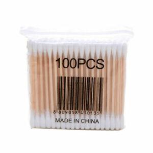 Double-headed Makeup Cotton Swab 100 Sticks Beauty Disposable Cotton Swab