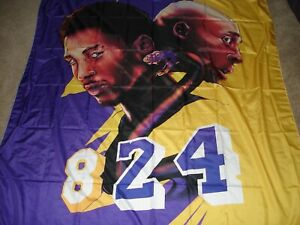 "Legends Kobe Wall Tapestries, Kobe Bryant Wall Tapestry # 24 ~ 60"" X 51"""