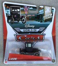DISNEY PIXAR CARS LIZZIE RADIATOR SPRINGS BRAND NEW