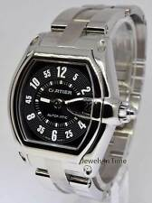 Cartier Mens Roadster Steel Black Dial Automatic Watch 2510