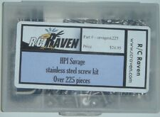 HPI Savage 25, SS, X Stainless Steel Screw Kit