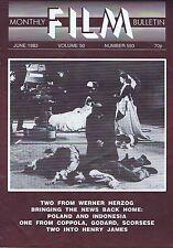 WERNER HERZOGMonthly Film BulletinJun1983