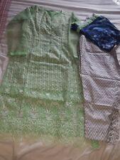 Pakistani designer Asim Jofa replica salwar kameez stitched medium