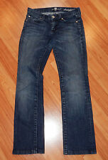 7 FOR ALL MANKIND Straight Leg STRETCH JEANS Size 25