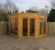 Mercia 9x9 Corner Summerhouse - Premier