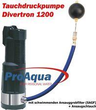Tauchdruckpumpe Divertron - Beta 1200 mit Saugset