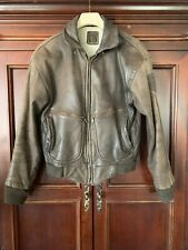 Vintage-Hein Gericke-Leather Motorcycle Bomber  Jacket-Size 40