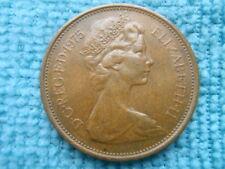 2 New Pence Moneta anno 1975 (BRO)