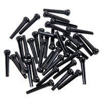 20pcs ABS Acoustic Guitar Bridge Pins-Black