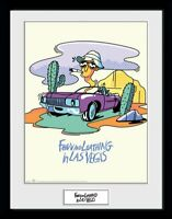 Fear and Loathing in Las Vegas Comic Collector Print Frame Poster Bild Rahmen