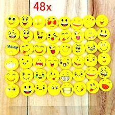 48 Gomme da Cancellare Emoji Idea Compleanno Bambini Emoticon Gadget Festa Bimbi