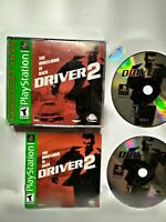 Driver 2 - PlayStation 1 PS1 Game COMPLETE AND TESTED