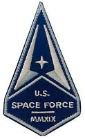"""US SPACE FORCE PATCH 3.5"""" Iron On NEW USA Military Department Of The Air Force"""