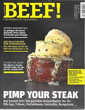 BEEF! Pimp your Steak Nr. 28 Ausgabe 4/ 2015 Neuwertig
