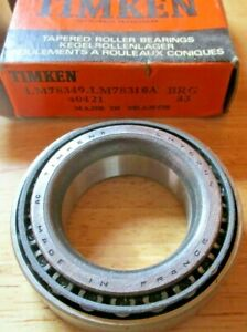 LM78349 - LM78310A New Timken Tapered Roller Bearings  1.378x2.4409x0.6575