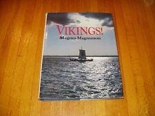 Vikings!  Magnus Magnusson     HC    Free Shipping