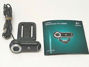 Logitech Quick Cam Pro 9000 Webcam V-UBM46 860-000109 Carl Zeiss Lens Tested