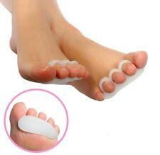 2 Gel Toe Separators Orthotics Stretchers Align Correct Overlapping Hammer Toes