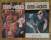 Deadworld TPBs Book One & Two Vince Locke 1989 / 1991 First 16 Issues Both NM