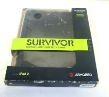 GRIFFIN GB02480 SURVIVOR MILITARY DUTY BLACK CASE STAND FOR  IPAD2