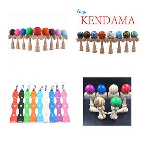 Kendama Japanese Traditional  Game Educational Skillful Wooden Toy Holder SE