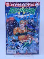 AQUAMAN #1 REBIRTH VARIANT COVER DC COMICS VF/NM CB374
