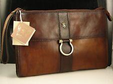 5ee1a569b0 Pratesi Firenze Italian Leather Women s Clutch Wristlet Hand Bag NWT