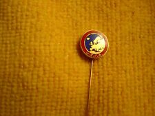 Old stickpin badge Football UEFA sign Bertoni Milano soccer offered by MTH