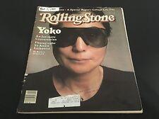 Vintage Rolling Stone Magazine Issue 353 October 1981 Yoko Ono The Beatles