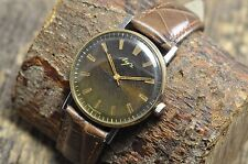 Russian watch Luch watch ultra slim Gold plated AU 2209 (Gold plated mechanism)