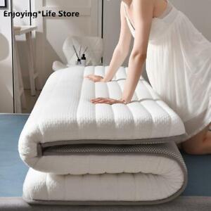 Thickness 6cm Latex Mattress Folding Mattress Tatami Queen King Twin Full Bed