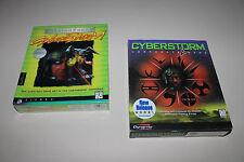 Mission Force CYBERSTORM 1 + CYBERSTORM 2 Corporate Wars US PC BIG BOX NEU AB 18