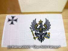 Banderas bandera Prusia nuevo - 90 x 150 cm