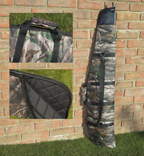 Padded Woodland Camo Air Rifle Gun Carry Case Bag Slip v1