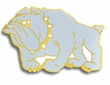 Bulldog Letterman Jacket Award Pin, Bulldog Mascot Jacket Pin