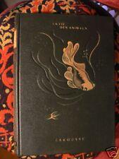 ancien livre la vie des animaux tome 1 bertin 1949