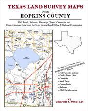 Hopkins County Texas Land Survey Maps Genealogy History