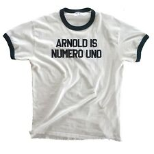 Arnold is Numero Uno Authentic T-shirt from the movie 'Pumping Iron' - XXL