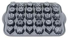 Nordicware Bundt TEA CAKES & CANDIES PAN 30 Mini Candy Molds SUNFLOWERS Hearts
