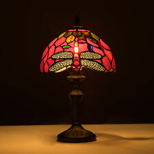 Tiffany Style Table Lamp Victorian 1 Lit Desk Lamp Stained Glass Home Decor
