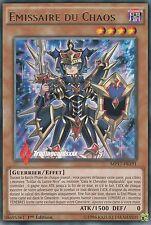 ♦Yu-Gi-Oh!♦ Emissaire du Chaos (Soldat du Lustre Noir) : MP17-FR191 -VF/Rare-