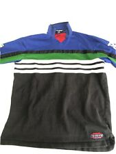 Vintage Polo Sport Ralph Lauren Long Sleeve Rugby Shirt Size M