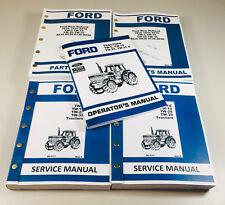 Ford Tw25 Tw35 Tractor Service Parts Operators Repair Manual Shop Book Set