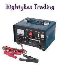 Silverline 268317 Cargador De Batería 12V 24V 25-135Ah baterías Booster Coche Camión