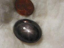 Negro Zafiro Estrella 93.11 Quilates 21.56x28.08x13.80 Mm. Piedra Ovalada